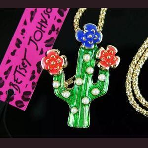 New cactus necklace